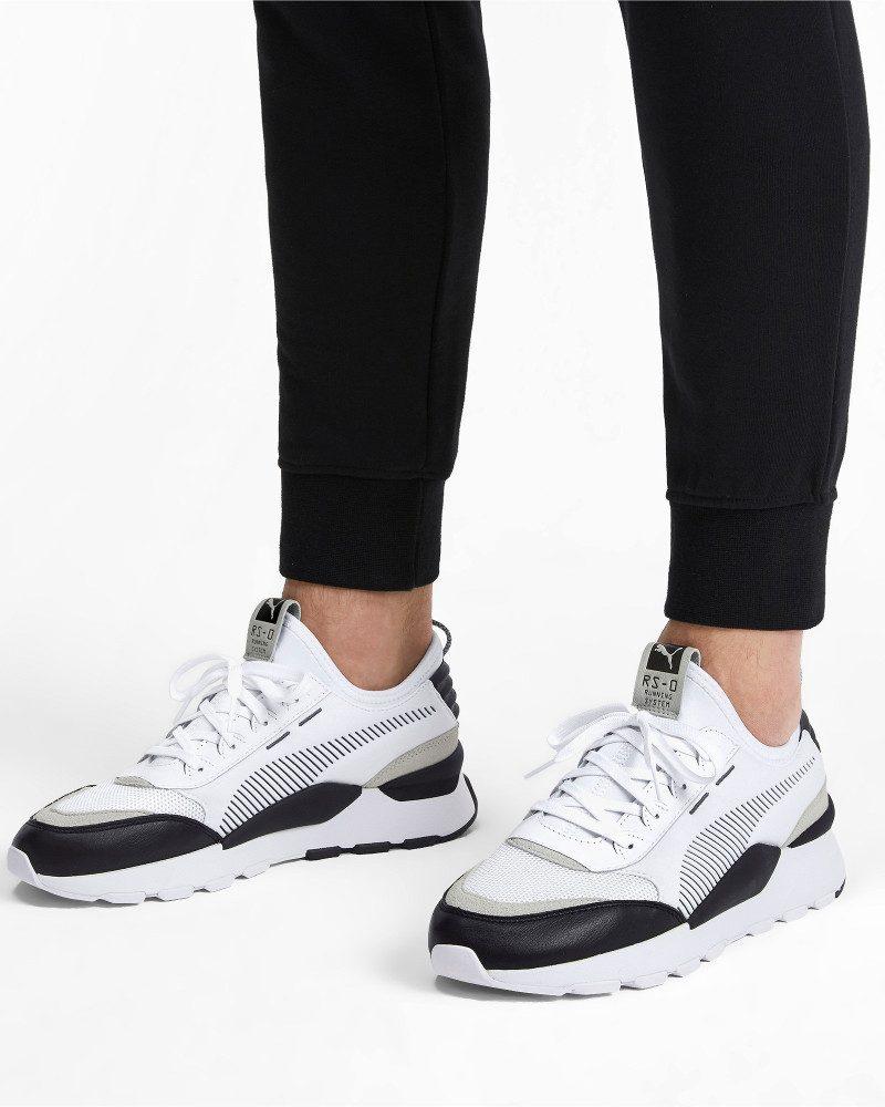 Puma Scarpe Sportive Sneakers Bianco Sportswear Footwear Lifestyle RS 0 Core