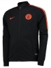 Manchester City training jacket Black Original Nike DRY Track knit Man 2016 17 Bench Version