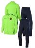 Training Tracksuit Barcelona Original Nike Bench version Man 2016 17 green