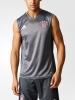 Training Shirt sleeveless tank top Bayern Monaco Original adidas Men 2016 17 Grey
