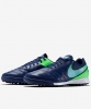 Football boots Shoes Original Nike Genio II Leather Turf Man 2016 navy