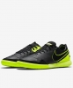 Football boots Shoes Original Nike TIEMPOX PROXIMO IC INDOOR Man 2017 Black