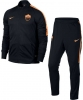Training Tracksuit Roma Original Nike Man 2016 17 bench version Black