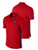 Nike Polo League Authentic PSG Cotton Men Short Sleeve Red