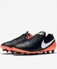 football boots Shoes Original Nike Tiempo ii genius leather ag-pro Black Man
