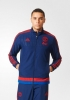Presentation Jacket Manchester United Original Adidas Man 2015 16 navy
