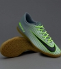 Football boots Shoes Original Nike Mercurialx vortex III Indoor Man 2016 Grey