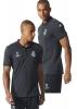 Polo Shirt  REAL MADRID Original adidas UEFA Champions League 2016 Male 17 Black