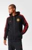 Training 3-Stripes Hooded Jacket Manchester United Black Original adidas Men 2015 16