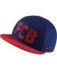 Hat Cap Nike Barcelona Blue Original Adjustable 2017 Men