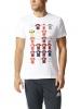 T-shirt leisure Original adidas Champions League History Man 2017 White