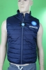 Bomber Jacket Down Jacket Vest Blue Original Napoli Macron Man 2014 15 blue
