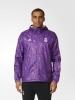 Wind JACKET WINDBREAKER Real Madrid Purple Original adidas Men 2016 17