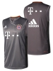 Training Shirt sleeveless tank top Bayern Original adidas Men 2016 17 GREY Sponsor T MOBILE