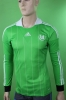 WOLFSBURG VF Jersey Shirt Green Original Adidas Mens away 2013 14 long sleeves