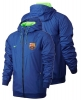 Training jacket rain wind kway barcelona Original Authentic Nike Windrunner Men 2016 17 royal