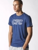 T-shirt leisure Graphic Chelsea Blue Original adidas Men 2014 15