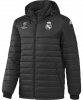 Down Jacket Bomber Jacket Black Original adidas Real Madrid UEFA Champions League Man 2016 17