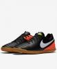 Football boots Shoes Original Nike Tiempo Rio III Indoor Mens 2017 black orange