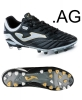 Football Boots shoes Black Original Joma Numero-10 PRO 601 AG Man.