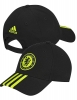 Hat Cap Chelsea Original Adidas 3 Stripe Man 2016 17 black