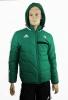 Down Jacket Bomber Jacket Legia Warsaw Original adidas Men\'s 2013 Green 14
