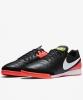 Football boots Shoes Nike Original Tiempo Genio II Leather IC Indoor Black