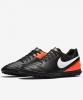 Football boots Shoes Original Nike Tiempo Rio III Turf Men 2017 black orange