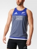 Training Shirt sleeveless tank top SINGLET All Blacks Grey Original adidas Men 2016 17