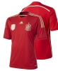 football Jersey shirt Spain Red Original adidas Men's World Cup Brazil 2014