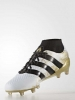 Football Boots shoes Original Adidas ACE Primeknit 16.1 FG white man sock Top of range Techfit