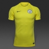 Training Jersey shirt Manchester City Original Nike Dry Squad 2016 17 yellow