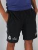 Shorts Woven Real Madrid adidas Original pockets zip Man 2016 17 Black FLY EMIRATES
