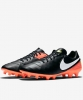 Original Football Boots shoes Nike Tiempo Mystic FG V Men Black 2017