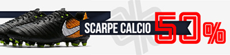 Scarpe Calcio Sconto 50%