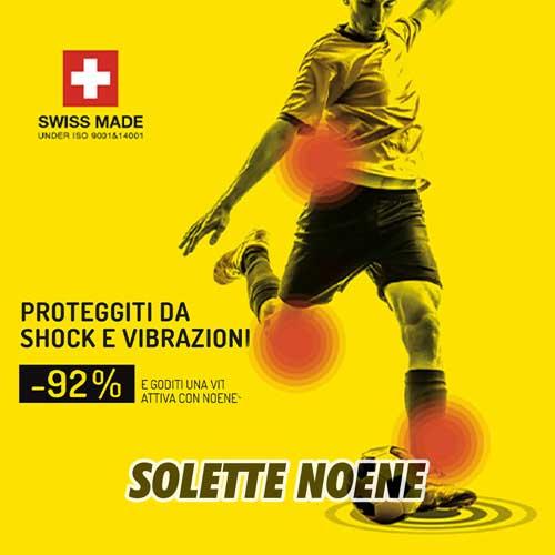 Accessori Calcio Fitness Palestra Solette Noene Italia Running
