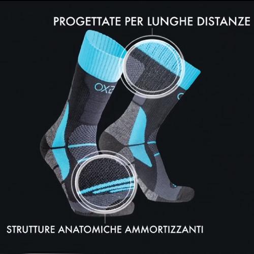 Calze calzettoni tecnici sport Nike Oxyburn Adidas Joma