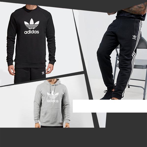 Adidas Originals Tempo libero tuta felpa 2018 2019