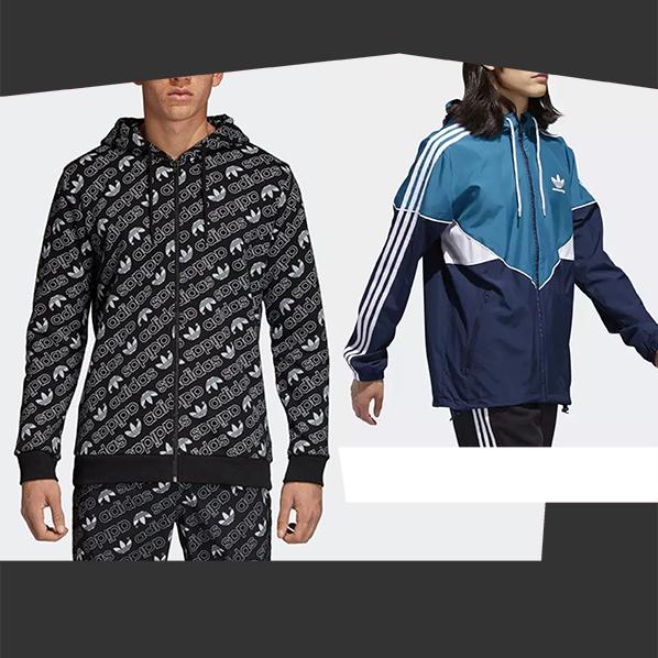 Giacche sportive Adidas Originals Trefoil 2018 2019