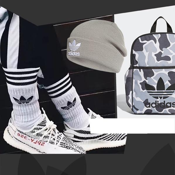Accessori Adidas Originals zaino calzettoni cappello Trefoil 2018 2019