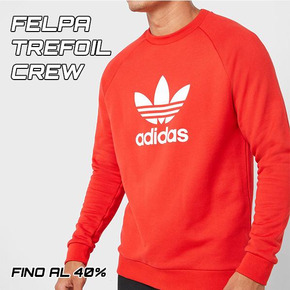 Nuova collezione 2020 Felpa Adidas Originals Trefoil