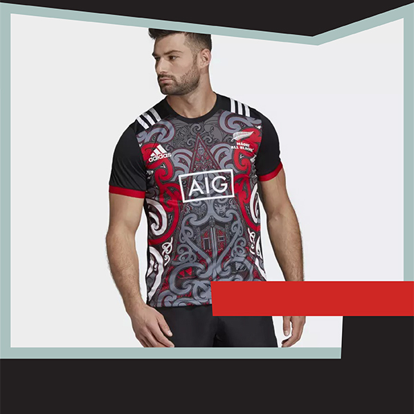 T-shirt Adidas Maori Linea performance 2018