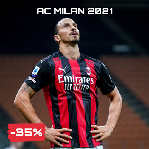 Sconti saldi Ac Milan Black Friday 2020 Serie A