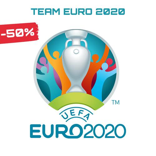 Sconti saldi Squadre Euro 2020 Belgio Germania Spagna Italia europei 2020