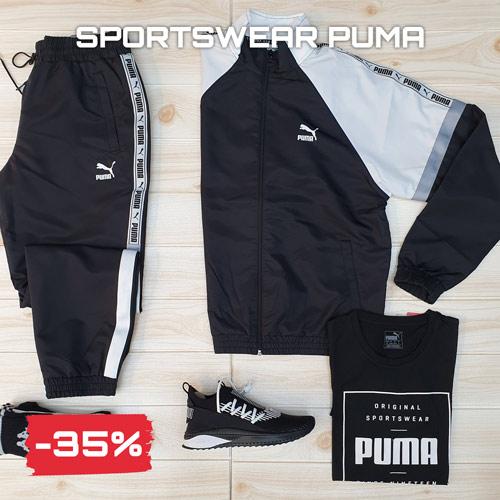 Sconti saldi Black Friday 2020 sportswear Puma