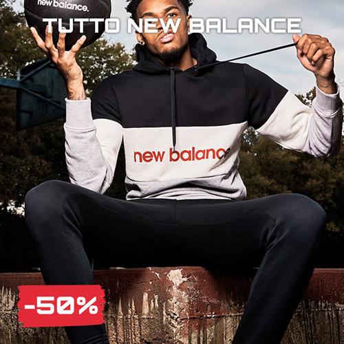 Sconti saldi Black Friday 2020 sportswear new balance