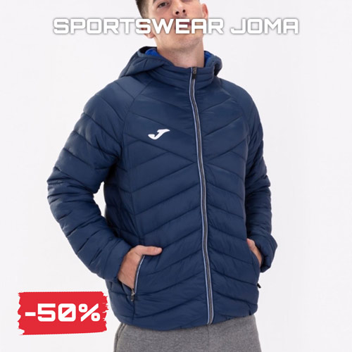 Sconti saldi Black Friday 2020 sportswear Joma