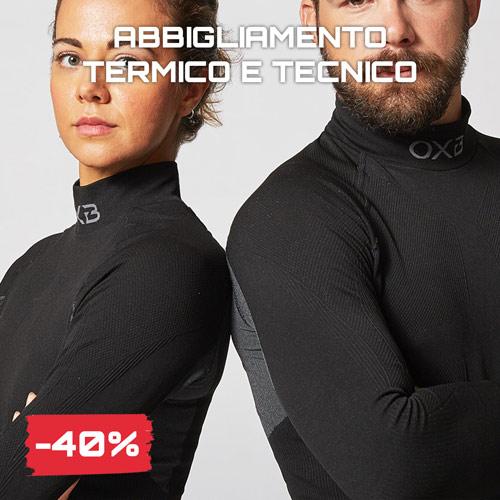 Sconti saldi Black Friday 2020 abbigliamento termico tecnico Oxyburn Joma Nike
