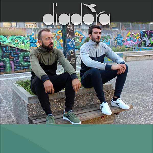 Nuova linea abbigliamento e sneakers Diadora