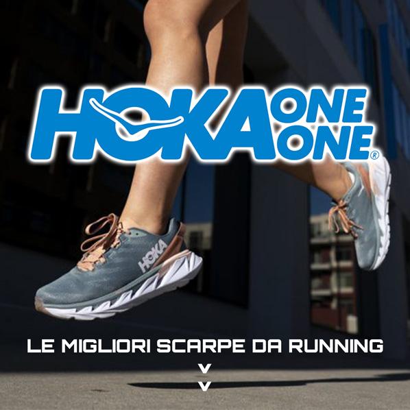 Scarpe corsa running training Hoka One One Elevon bondi Gaviota Rincon Arahi